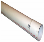 Charlotte Pipe & Foundry PVC30040P0600HC 4x10 Perf S&D Pipe