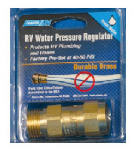 Camco Mfg 40055 RV Water Pressure Regulator, Brass