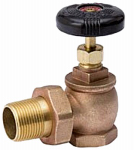 "Homewerks Worldwide VRDAGSN6B 1-1/4"" Bronze Steam Valve"