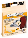 3M 9678 Sandblaster 4.5-In. 36-Grit Right-Angle Grinder Sanding Disc