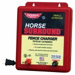 Parker Mc Crory Mfg HS-100 Horse Surround Electric Fence Charger, 5-Mile, Low Impedance, 110-Volt