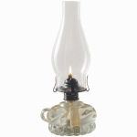Lamplight Farms 110 11-1/2 Inch Chamber Oil Lamp
