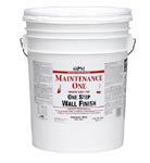True Value Mfg MOC1-5G Maintenance One 5-Gallon Contractor White Interior Latex 1 Step Wall Finish Paint