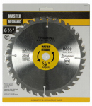 Disston 440859 6-1/2 Inch Smooth-Cut Combo Circular Saw Blade