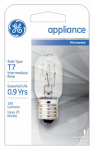 G E Lighting 10692 25-Watt Clear Tube Appliance Light Bulb