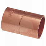 Elkhart Products 30908 1-Inch Wrot Copper Coupling With Stop