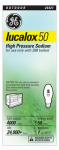 G E Lighting 26421 Sodium Light Bulb, Clear, 50-Watt