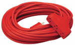 Ho Wah Gentin Kintron Sdnbhd 04217ME 25-Ft. 14/3 SJTW, Red 3-Outlet Extension Cord