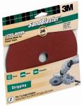 3M 9635 Sandblaster 2-Pk., 7-In. 36-Grit Fiber Sanding Disc