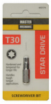 Disston 442574 Master Mechanic Torx 30 1-Inch Insert Bit Tip