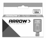 Arrow Fastener 206 T-20 Staples, 3/8-In., 1000-Ct.