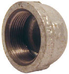 B & K/Mueller Inds(Import) 511-402HN Pipe Fittings, Galvanized Cap, 3/8-In.
