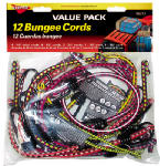 Hampton Products-Keeper 06313 Bungee Cord, 12-Piece Assortment