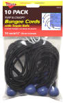 Hampton Products-Keeper 06344 12-Inch Bungee Ball Cord, 10 Pack