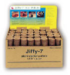 Plantation Products J3BULK Jiffy-7 Plant Starter Pellet, 36mm, 1,000-Ct. Bulk Display
