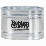 Behlen Country 50130018 Livestock Round End Tank, Zinc-Coated, 2 x 2 x 3-Ft., 65-Gals.