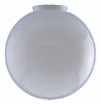Westinghouse Lighting 81869 White Polycarbonate Globe, 6-In., Must Purchase in Quantities of 6
