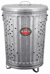 Behrens RB20 20-Gallon Trash/Burner Composter Can