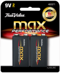 Dorcy International 41-1716 True Value 2-Pack 9-Volt Alkaline Batteries