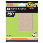 Ali Industries 5031 6-Pack 4.5 x 5.5-Inch 150-Grit General-Purpose Sandpaper