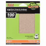 Ali Industries 5032 6-Pack 4.5 x 5.5-Inch 100-Grit General-Purpose Sandpaper