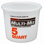 Leaktite 10M3-50 5 Quart Mixing Container