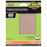 Ali Industries 5033 6-Pack 4.5 x 5.5-Inch 60-Grit General-Purpose Sandpaper