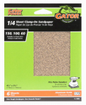 Ali Industries 5036 6-Pack 4.5 x 5.5-Inch Assorted-Grit General-Purpose Sandpaper