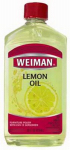 Weiman Products 18A Lemon Oil Furniture Polish With Sunscreen, 16-oz.