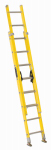 Louisville Ladder FE1716 16-Ft. Extension Ladder, Fiberglass, Type I, 250-Lb. Duty Rating
