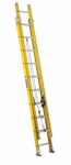 Louisville Ladder FE1720 20-Ft. Extension Ladder, Fiberglass, Type I, 250-Lb. Duty Rating