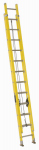 Louisville Ladder FE1724 24-Ft. Extension Ladder, Fiberglass, Type I, 250-Lb. Duty Rating