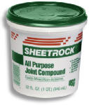 U S Gypsum 380270 Joint Compound, Ready-To-Use, 1.75-Pt.