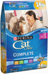 American Distribution & Mfg 13415 Cat Food, Complete Formula, 16-Lb. Bag