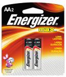 "Eveready Battery E91BP-2 2-Pack ""AA"" Alkaline Batteries"