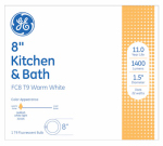 G E Lighting 11084 22-Watt Circline Kitchen/Bath Appliance Fluorescent Light Bulb