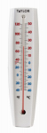 Taylor Precision Products 90111-000-000 Big & Bold 15 x 3-Inch White Outdoor Tube Thermometer