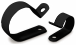 Gardner Bender PPC-1550UVB Cable Clamps, Black Plastic, 1/2-In. I.D., 12-Pk.
