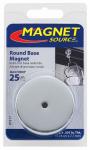 Master Magnetics 07217 Round Base Magnet - 25-Lb. Pull