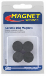 Master Magnetics 07003 8-Piece Ceramic Disc Magnets