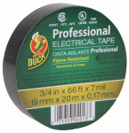 Shurtech Brands 667 Professional Electrical Tape, Black, 3/4-In. x 66-Ft.