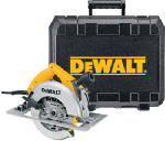 DeWalt DW364K 7-1/4'' Heavy Duty Circular Saw Kit