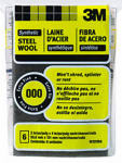 3M 10120 #000 Extra Fine Synthetic Steel Wool Pads