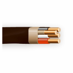 Southwire/Coleman Cable 63950002 Non-Metallic Sheathed Cable With Ground, Copper, 6/3, 125-Ft. Coil