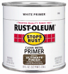 Rust-Oleum 7780-730 1/2-Pint White Clean Metal Primer
