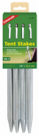 Coleman 2000016445 12-Inch Metal Tent Stakes