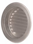 Lomanco CV4W Circle Vent, White, 4-In.