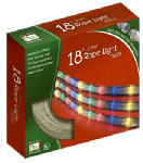 Noma/Inliten-Import 55131-88 Christmas Rope Light Set, Multi-Color, 18-Ft.