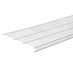 Closetmaid 139500 Close Mesh Wire Shelf, White, 6-Ft. x 16-In.