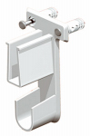 Closetmaid 660900 Superslide White End Bracket